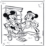 Comic Characters - Mickey and Minnie