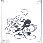 Comic Characters - Mickey and monkey