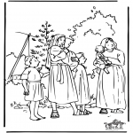Bible coloring pages - Moses 1