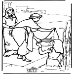 Bible coloring pages - Moses 2