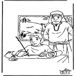Bible coloring pages - Moses 3