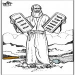 Bible coloring pages - Moses 4