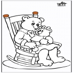 Theme coloring pages - Mother's Day 11