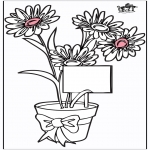Theme coloring pages - Mother's Day 12