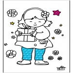Theme coloring pages - Mother's Day 6