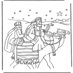 Christmas coloring pages - Nativity story 1