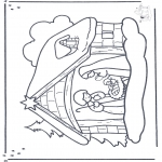 Christmas coloring pages - Nativity story 13