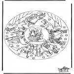 Christmas coloring pages - Nativity story 16