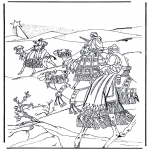 Christmas coloring pages - Nativity story 2