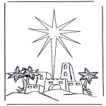 Christmas coloring pages - Nativity story 6