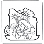 Christmas coloring pages - Nativity story 7