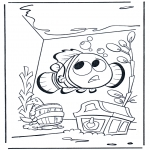 Kids coloring pages - Nemo 1