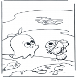 Kids coloring pages - Nemo 15