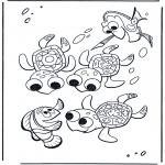 Kids coloring pages - Nemo 17