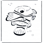 Kids coloring pages - Nemo 4