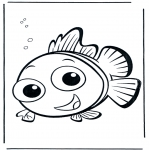 Kids coloring pages - Nemo 5