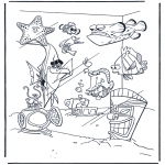 Kids coloring pages - Nemo 8