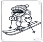 Nice skiing