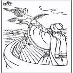 Bible coloring pages - Noah 3
