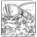Bible coloring pages - Noa's ark 5