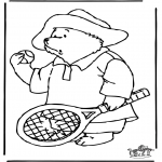 Kids coloring pages - Paddington 3