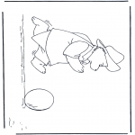 Kids coloring pages - Paddington bear 10