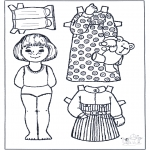 Crafts - Paper doll 3