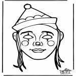 Crafts - Paper mask 10