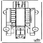 Crafts - Papercraft bus