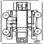 Crafts - Papercraft car
