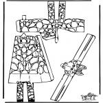 Crafts - Papercraft giraffe 1