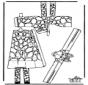 Papercraft giraffe 1