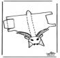 Papercraft goat 1