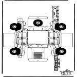 Crafts - Papercraft Hummer