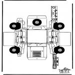 Crafts - Papercraft Hummer