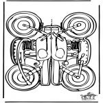 Crafts - Papercraft motor