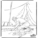 Bible coloring pages - Parable talents