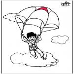 All sorts of - Parachuting