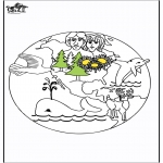 Bible coloring pages - Paradise 1