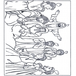 Bible coloring pages - Pentecost 1