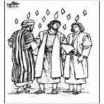 Bible coloring pages - Pentecost 3