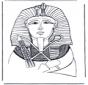 Pharaoh death-mask