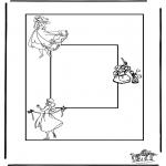 Crafts - Photoframe Cinderella