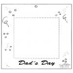 Crafts - Photoframe for dad