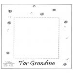 Crafts - Photoframe for grandma