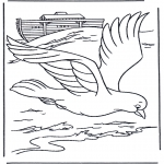 Bible coloring pages - Pignon from ark