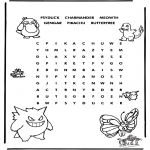 Crafts - Pokemon puzzle 3