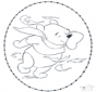 Pooh stitchingcard 1