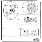 Crafts - Present tag 101 Dalmatians