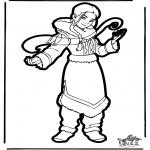 Crafts pricking cards - Prickingcard Avatar